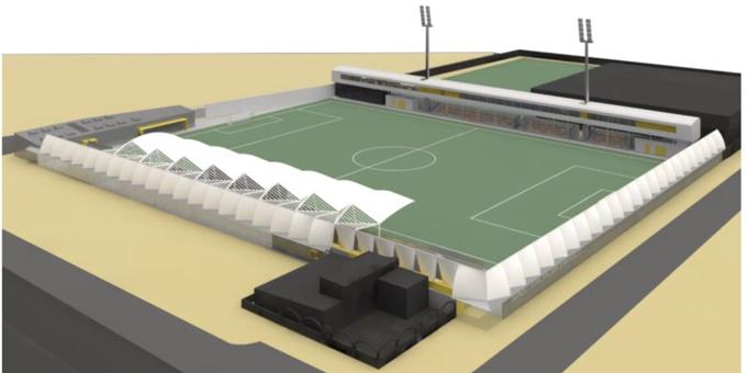El Estadio San Juan Bosco de Utrera pasará de 800 a tener 2.000 localidades