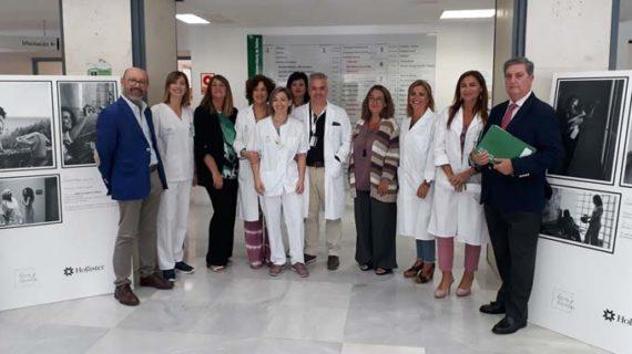 El Hospital de Valme muestra la primera exposición nacional itinerante sobre ostomía