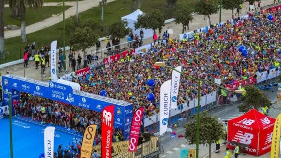 El Zurich Maratón de Sevilla bate récords y supera los 7.200 inscritos