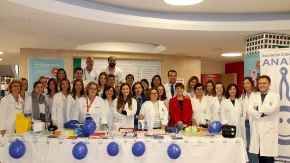 La Unidad de Endocrinología y Nutrición del Macarena fomenta la educación terapéutica en el marco del día mundial de la Diabetes