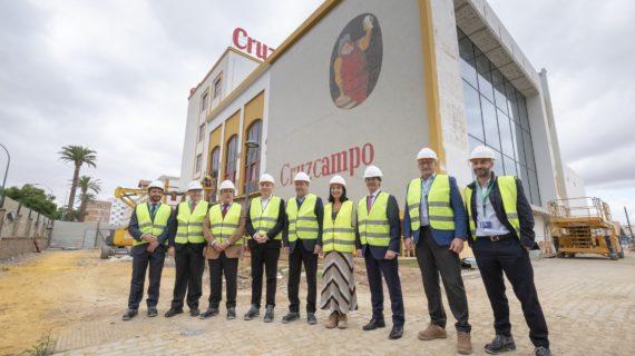 La antigua sede de Cruzcampo reabrirá en mayo reconvertida en fábrica de experiencias