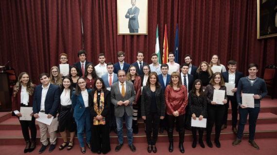 La Universidad de Sevilla premia a los estudiantes con mejores notas de admisión