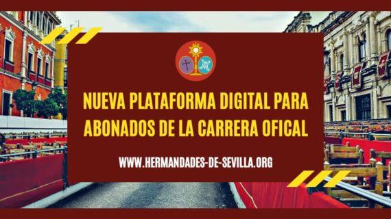 Una plataforma online facilitará el pago de la Carrera Oficial de Sevilla a los abonados