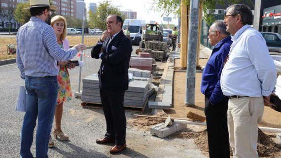 Inician las obras de reurbanización de la calle Potasio, en el Parque Empresarial Calonge