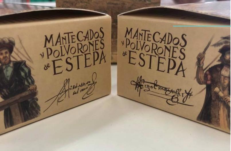 Mantecados de Estepa en el Acuario de Sevilla para celebrar el V Centenario de la Primera Vuelta la Mundo