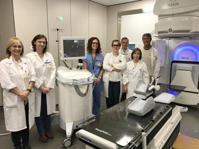 El Macarena incorpora el guiado por ultrasonidos para tratar el cáncer de próstata con radioterapia en 5 días