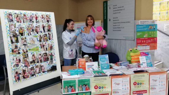 El centro de salud San Hilario de Dos Hermanas celebra las Jornadas Comunitarias de la Salud