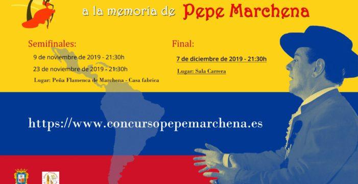 Arranca el Cantes de Ida y Vuelta, concurso dedicado a la memoria de Pepe Marchena