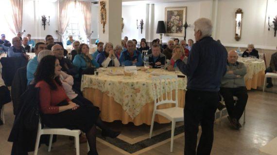 Los vecinos de Alcalá de Guadaíra disfrutan de un desayuno cardiosaludable para poner fin a la X Semana del Corazón