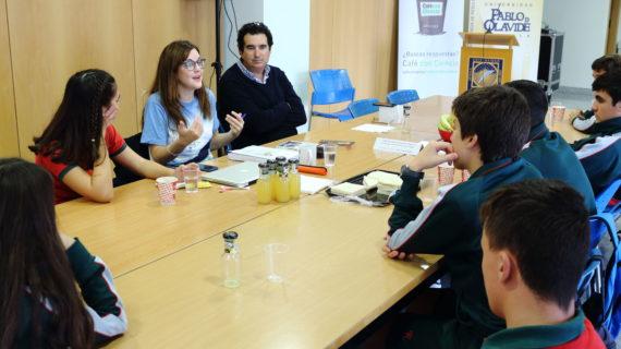 'Café con Ciencia' abre la Semana de la Ciencia en la Pablo de Olavide