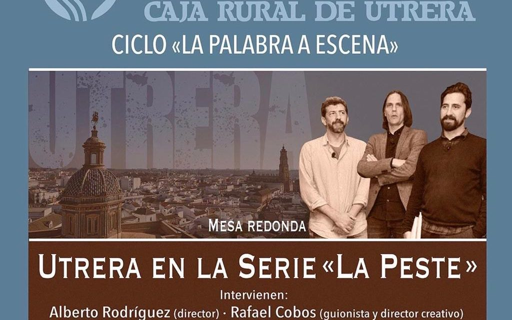 Alberto Rodríguez, protagonista del ciclo La Palabra a Escena en Utrera