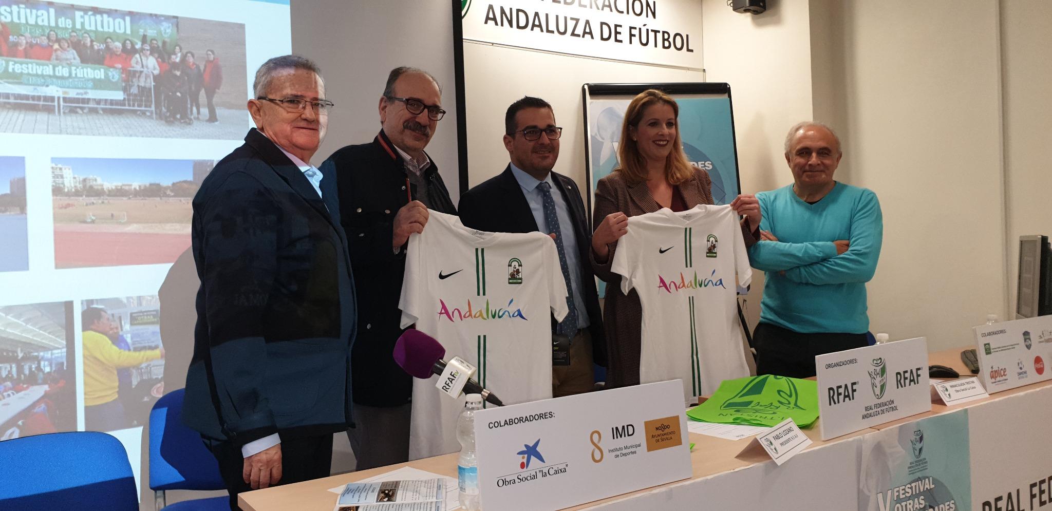 El Palacio de los Deportes de San Pablo acoge el V Festival de Fútbol de Otras Capacidades