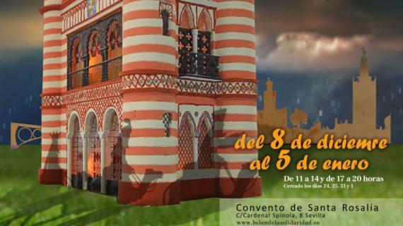 EL Convento de Santa Rosalía acoge el Belén de la Solidaridad, organizado por personas transplantadas