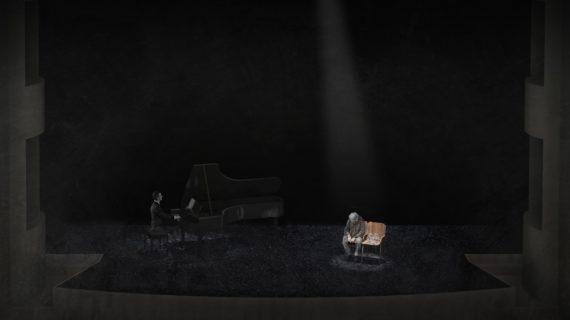 El Espacio Turina estrena el ciclo 'DxM' del sevillano Rafael R. Villalobos con el contratenor Xabier Sabata en 'Winterreise'