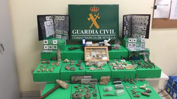 Detenido por vender piezas arqueológicas en páginas webs de segunda mano