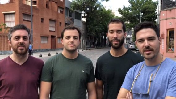 Cuatro médicos sevillanos salvan la vida a una joven en un vuelo Madrid-Buenos Aires