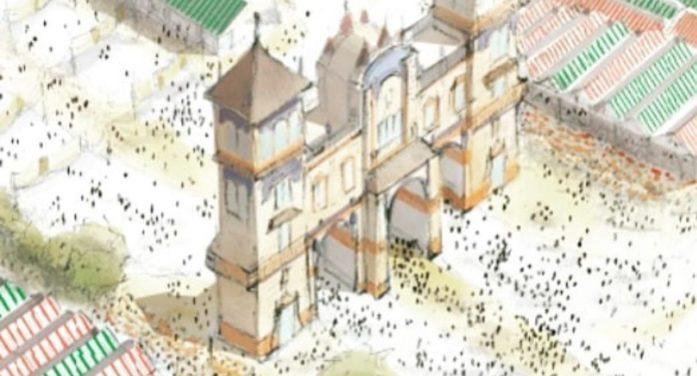 El Hotel Alfonso XIII, inspiración para la portada de feria de 2020