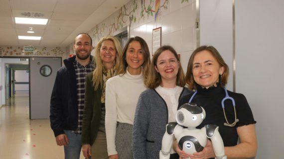 El robot para la rehabilitación de niños con cáncer del Virgen del Rocío, premiado por la Sociedad Andaluza de Calidad Sanitaria