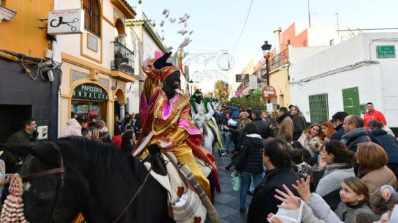 El Heraldo Real llegará a caballo a Tomares para recoger las cartas de los más pequeños