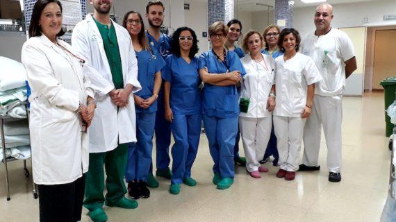 Médicos y enfermeros del Valme, galardonados por la Asociación Andaluza-Extremeña de Anestesiología, Reanimación y Terapéutica del Dolor