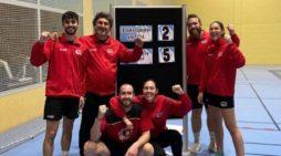 El Club de Bádminton La Rinconada finaliza la primera vuelta con el trabajo cumplido
