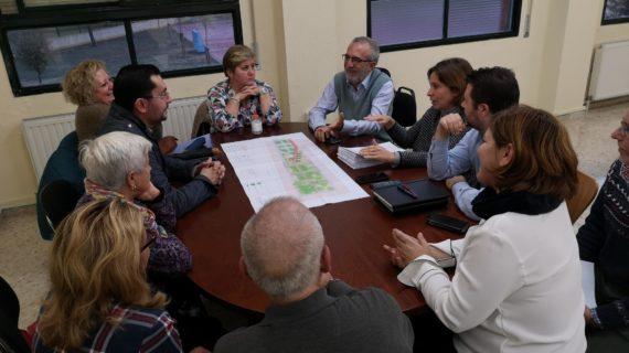Se ultiman los detalles para la reurbanización completa de la calle Petrarca en el Distrito Cerro-Amate