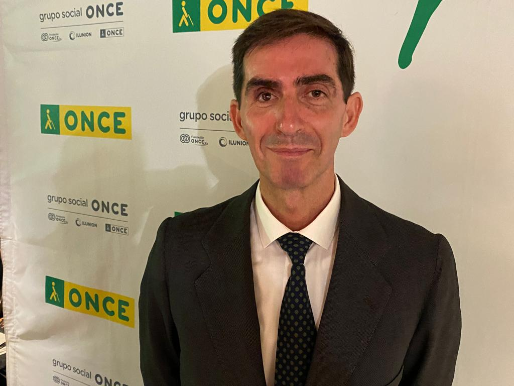 """El """"bormujero"""" Gonzalo Carande, Vendedor del Año de la ONCE en Andalucía"""