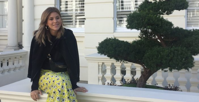 La sevillana Lucía Pérez cumple su sueño en Londres
