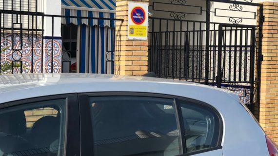 Utrera gana 4.000 plazas de aparcamientos gracias a las nuevas tarjetas de vado