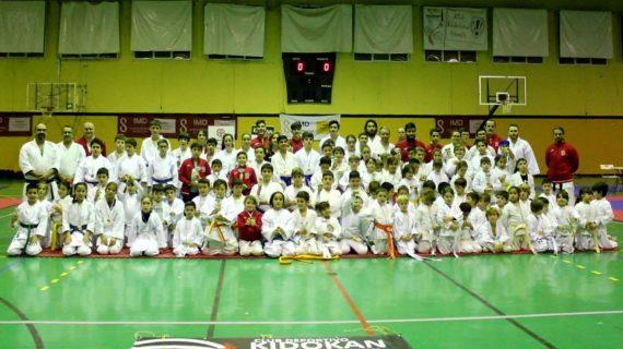 Sevilla acorge el  XVI Campeonato Benéfico Kidokan de Karate