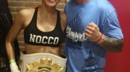 "La ""coriana"" Lara Fernández se proclama campeona del mundo de Muay Thai"