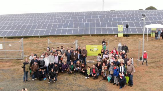 Lora del Río inaugura la planta fotovoltaica de La Florida
