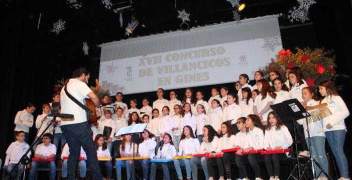 Los mejores sones navideños llegan a Gines con el XVIII Concurso de Villancicos