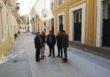 Las obras de la calle San Vicente de Sevilla abren un nuevo tramo