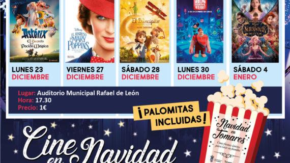 Cine en familia en el Auditorio Municipal de Tomares
