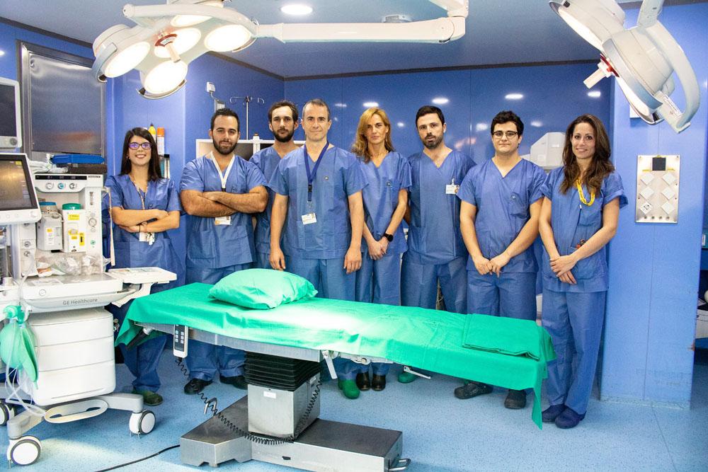 Realizada con éxito una cirugía asistida por navegación en el Virgen del Rocío