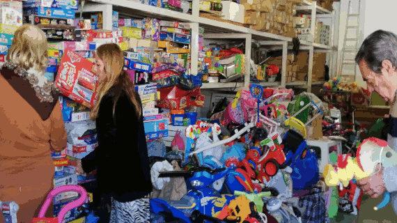 Último día para entregar juguetes usados en el Cortijo del Parque del Alamillo