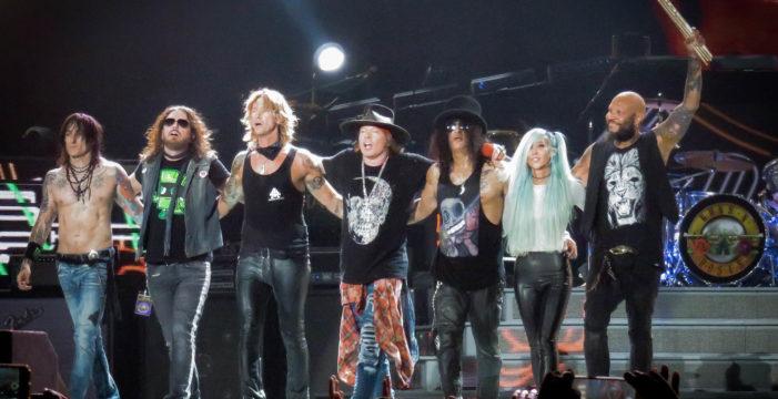 Sevilla será testigo del único concierto de Guns N' Roses en España en 2020