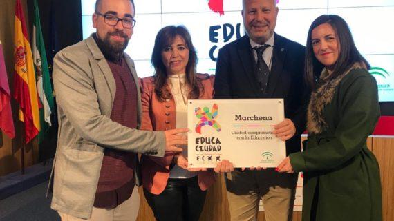 La labor educativa de Marchena es reconocida por la Junta