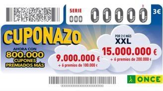 El Cuponazo de la ONCE deja en Sevilla 250.000 euros