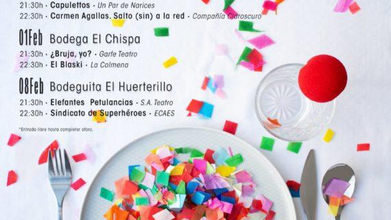 'De Tapas y a lo Loco', el primer festival de Gastroteatro de Valencina