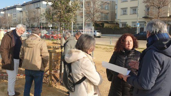 Se inician las obras del nuevo itinerario peatonal de la Avenida de Dinamarca