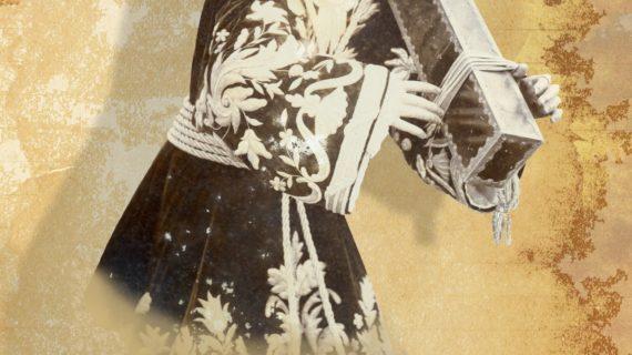 Una fotografía de Jesús de principios del siglo XX para el cartel y el logotipo de la exposición 'El Nazareno de Marchena'