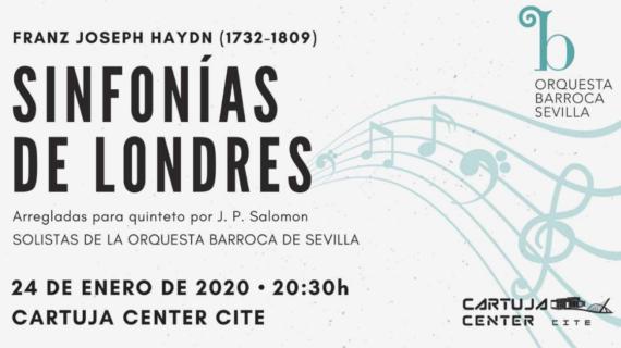 La Orquesta Barroca de Sevilla ofrecerá el concierto 'Sinfonías de Londres' de Haydn en Cartuja Center