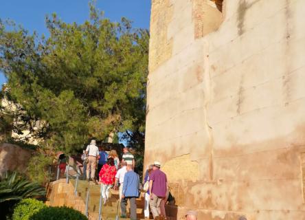 Casi 3.000 personas visitaron en 2019 el castillo de Mairena del Alcor