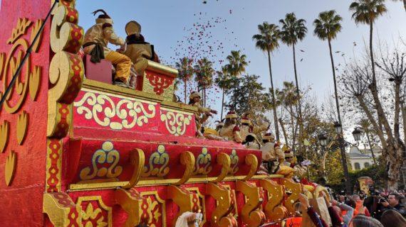 Más de 500.000 personas disfrutaron de la Cabalgata de Sevilla