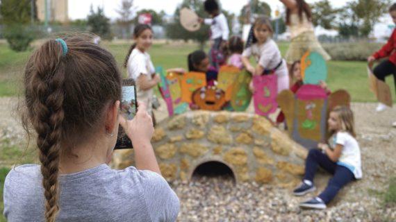 Un grupo de menores de 15 años ofrece su mirada del Polígono Sur en el Antiquarium