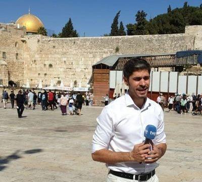 Javier Gutiérrez, la cara de TVE desde Jerusalén