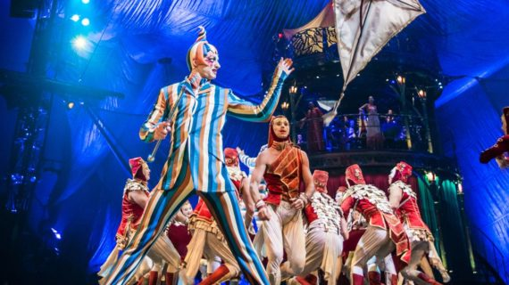 El espectáculo 'Kooza' de Circo del Sol protagoniza la agenda cultural sevillana del fin de semana