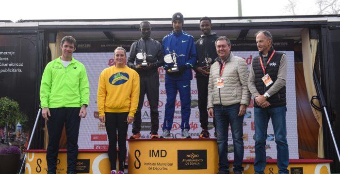 Bodas de Plata con éxito del medio maratón de Sevilla